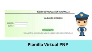 Planilla Virtual PNP