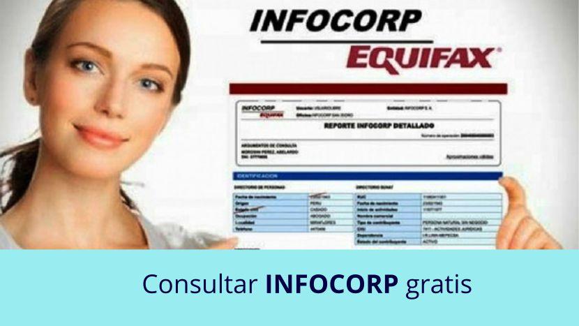 Consultar infocorp gratis