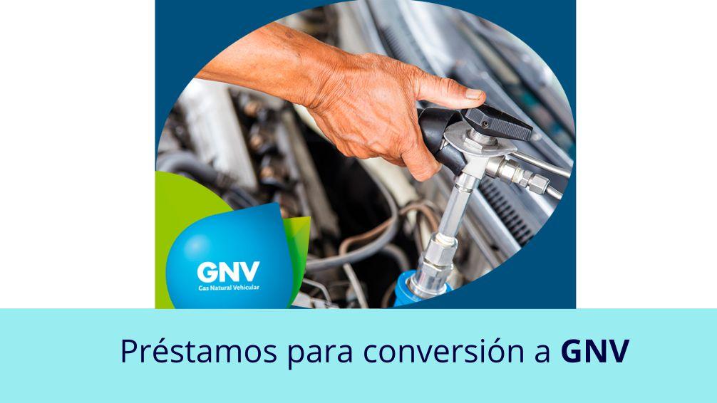Préstamos para conversión a GNV